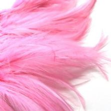 Bubble Gum Full Hackle Feathers